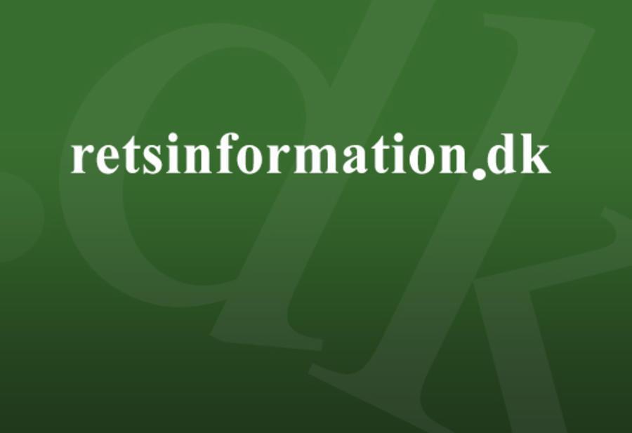 Logo for hjemmesiden retsinformation.dk