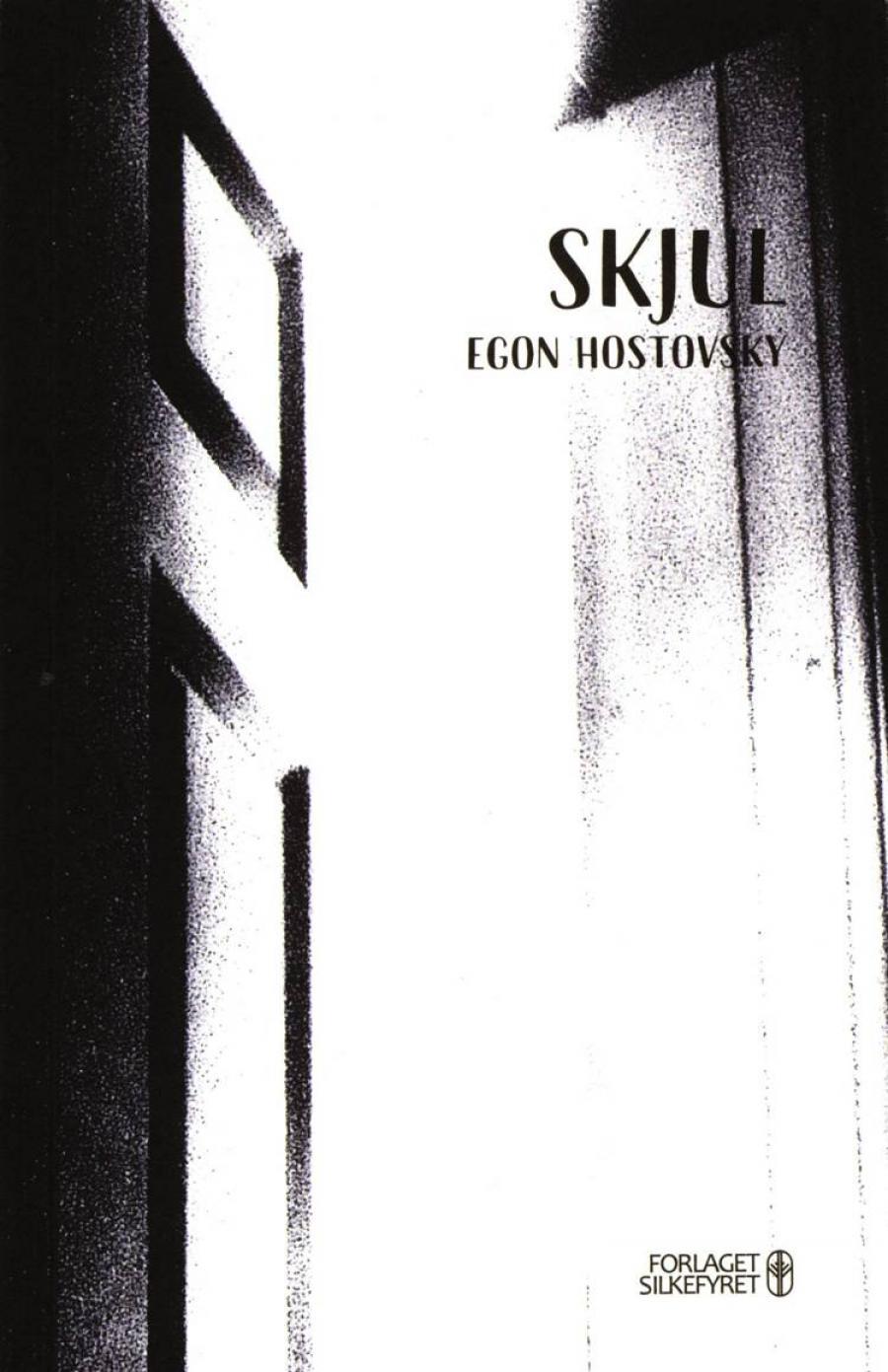 Bogforside til Skjul af Egon Hostovsky